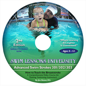 Advanced Swim Strokes 301/302/303 Course – Breaststroke Segment Video