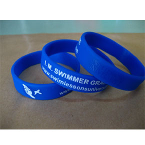 I.M. Swimmer Graduate Awards Bracelet (Blue)