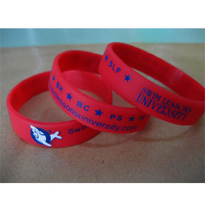 Swim 101 Awards Bracelet (Red)