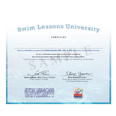 Swim Strokes 201/202/203 Exam and Swim Instructor Certification