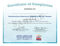 Swimming Teacher Certification